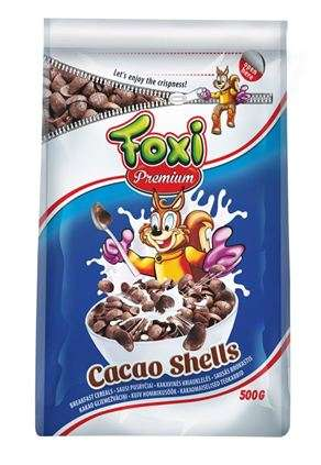 PREMIUM cacao shells FOXI 500 g (pack with zipper)