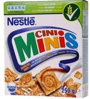 NESTLE flakes CINI MINIS 250g