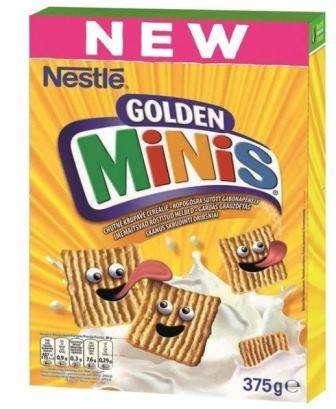 NESTLE flakes GOLDEN Mini, 375g