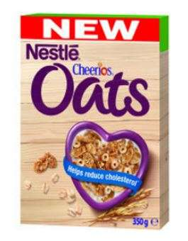 NESTLE flakes Oats and Cheerios, 350g