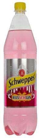 Soft drink Schweppes russchain 1,5 L pet