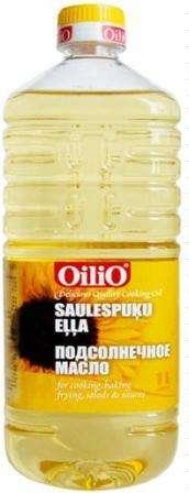 "Sunflower oil ""Oilio"", 1 l"