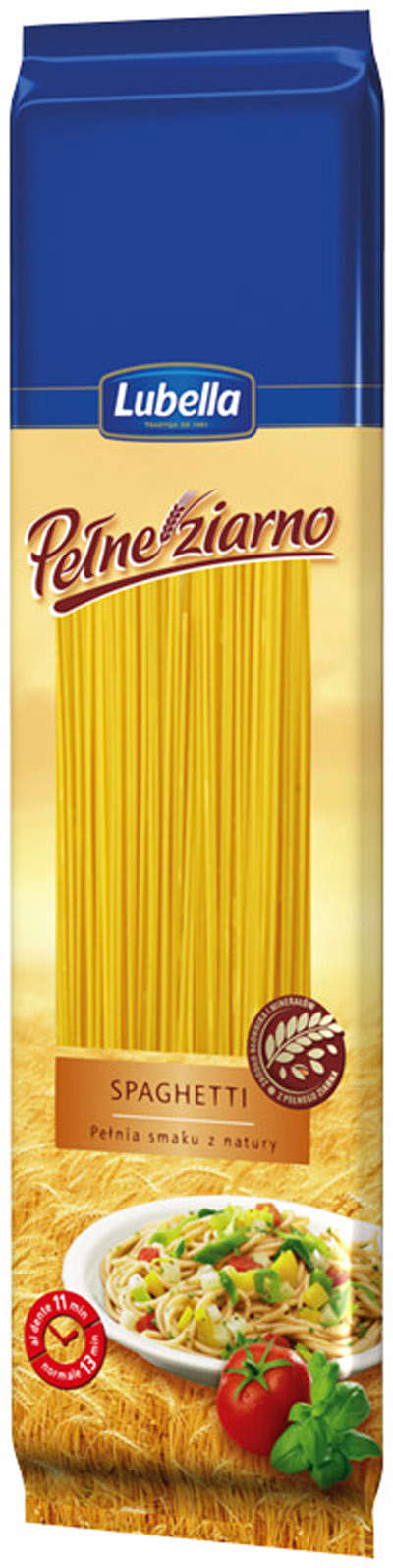 400g Whole Grain Pasta Spaghetti LUBELLA
