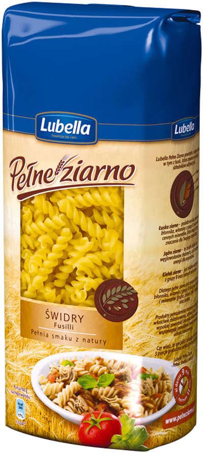 400g Whole Grain Pasta Fusili LUBELLA