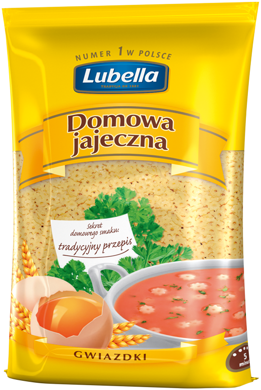 Star homemade noodles with eggs 250g Lubella