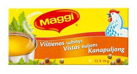 MAGGI Chicken Broth 120g