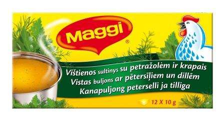 MAGGI Chicken Broth with dill and parsley 120g