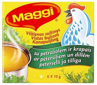 MAGGI Chicken Broth with dill and parsley 60g
