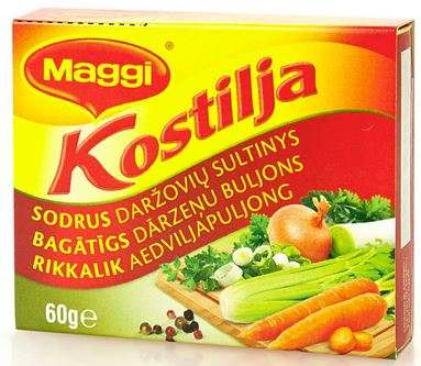 Kostilja MAGGI Rich Vegetable Broth 60g