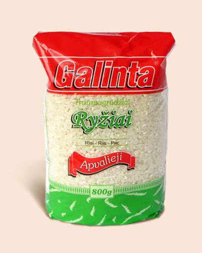 Round rice Galinta 800 gr.
