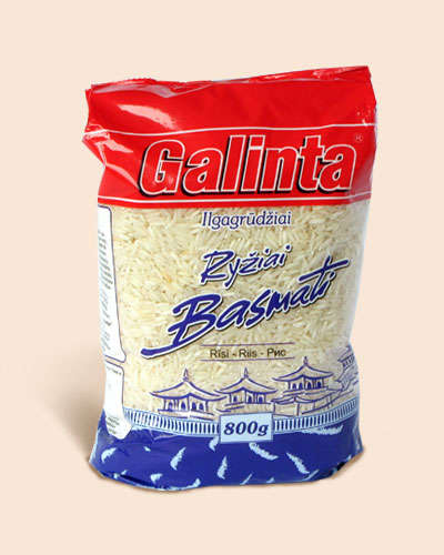 Long grain rice Galinta Basmati 800 gr.