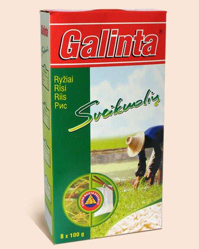 Long grain rice Galinta Delicat box 8x100 gr.