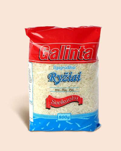 Long grain rice Galinta Delicat 800gr.