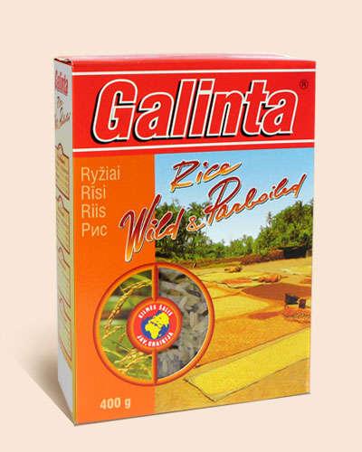 Parboiled rice Galinta Wild and Paraboiled box 400 gr.