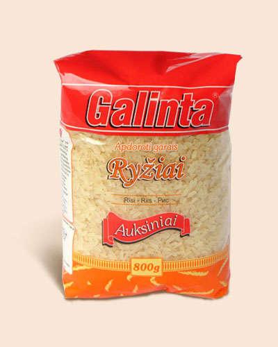 Parboiled rice Galinta Auksiniai 800 gr.