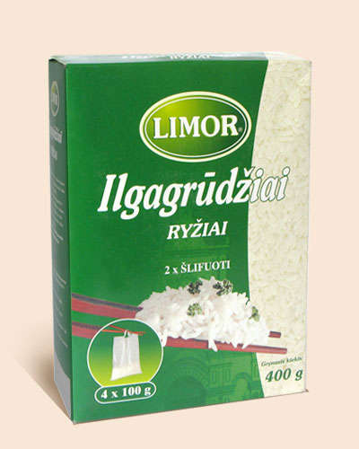 Long-grain rice Limor box 4x100 gr.
