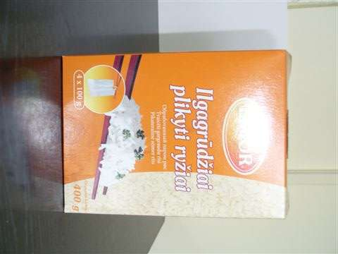 Parboiled rice Limor 4x100g