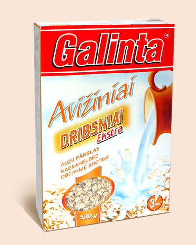 Oat flakes Galinta box 500 gr.
