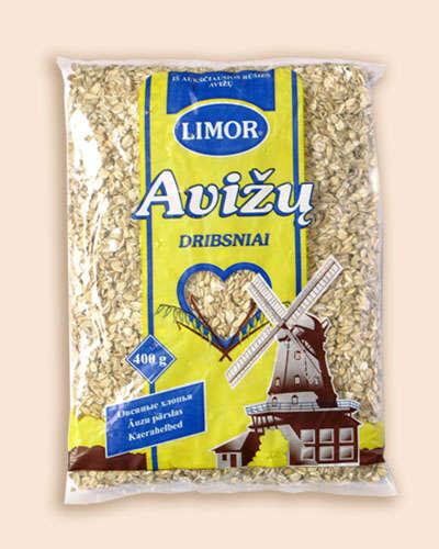 Oat flakes Limor pre-packaged 400 gr.