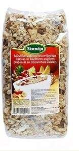 Muesli with pieces of dried fruits (0,5 kg)
