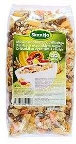 Muesli with pieces of dried exotic fruits (0,45 kg)