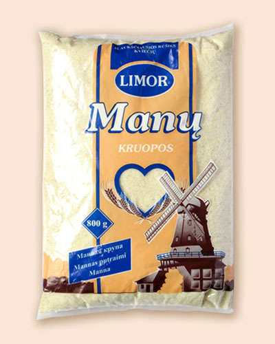 Semolina Limor pre-packaged 800 gr.