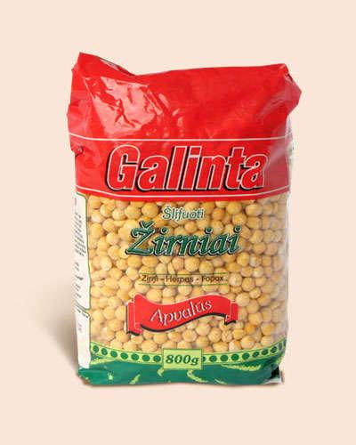 Round peas Galinta 800 gr.
