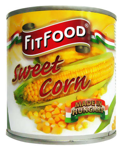 FIT FOOD corns 340g in tin