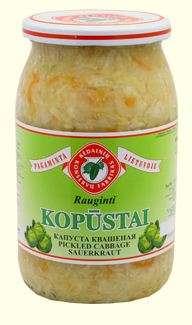 0,9l acidified cabbage KĖDAINIŲ KONSERVAI