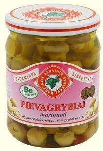480G pickled mushrooms KĖDAINIŲ KONSERVAI