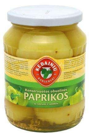 """Canned apple pepper """"Kėdainių konservų fabrikas"""", 620 g"""
