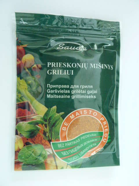"Spice mixture  ""For grill without food additives""80g"