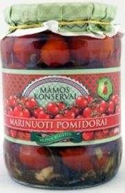 Marinated tomatoes, 680 g / MAMOS KONSERVAI