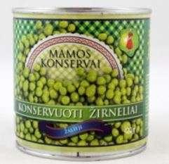 Green peas, 420 g / MAMOS KONSERVAI