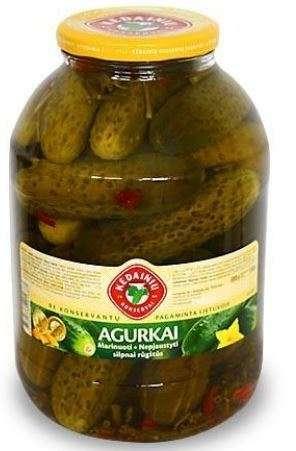 3L Pickled cucumbers KĖDAINIŲ KONSERVAI