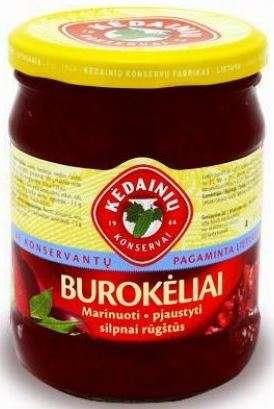 Pickled beets , 480g KĖDAINIŲ KONSERVAI