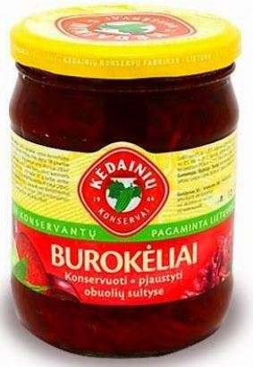 480g beetroot in marinade of apple juice KĖDAINIŲ KONSERVAI