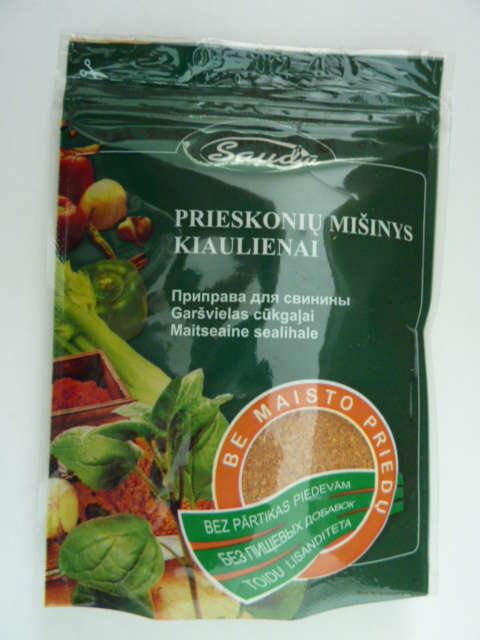 "Spice mixture  ""For pork without food additives""80g"