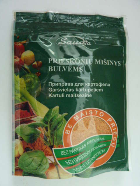 """Spice mixture  """"For potatoes without food additives""""80g"""