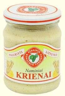 250G homemade horseradish KĖDAINIŲ KONSERVAI
