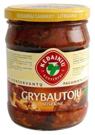 """Mashroom salad """"Kėdainių konservų fabrikas"""", 480 g"""