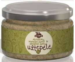 Artichoke, hard cheese and sesame seed spread, 190g