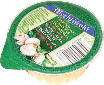 130g mushroom taste chiken pate WERBLINSKI