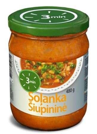 3 MIN Minestrine soup 480 g