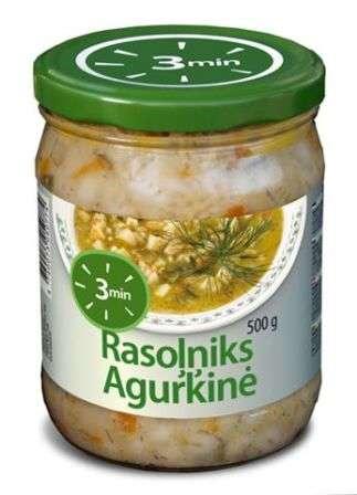 3 MIN Cucumber soup500 g
