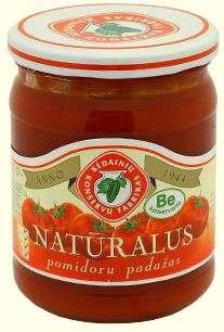500g natural tomato sauce KĖDAINIŲ KONSERVAI