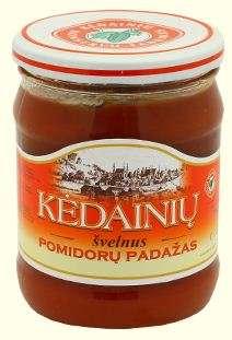 480ml mild tomato sauce KĖDAINIŲ KONSERVAI