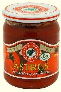 450ml hot tomato sauce KĖDAINIŲ KONSERVAI