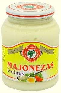 450ml mild mayonnaise KĖDAINIŲ KONSERVAI