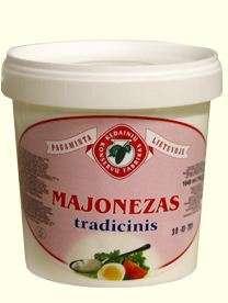 1KG traditional mayonnaise KĖDAINIŲ KONSERVAI
